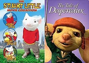 Don't Let Size Fool You/ Mouse Life 4 Life: The Stuart Little Box Set Collection (Stuart Little Movie / Part 2/ Call of the Wild 3) & The Tale Of Despereaux DVD Mice Bundle Quadruple Feature Film
