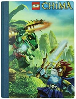 Character Lego Chima Composition Book 'Action Scene' Notebook Stationery