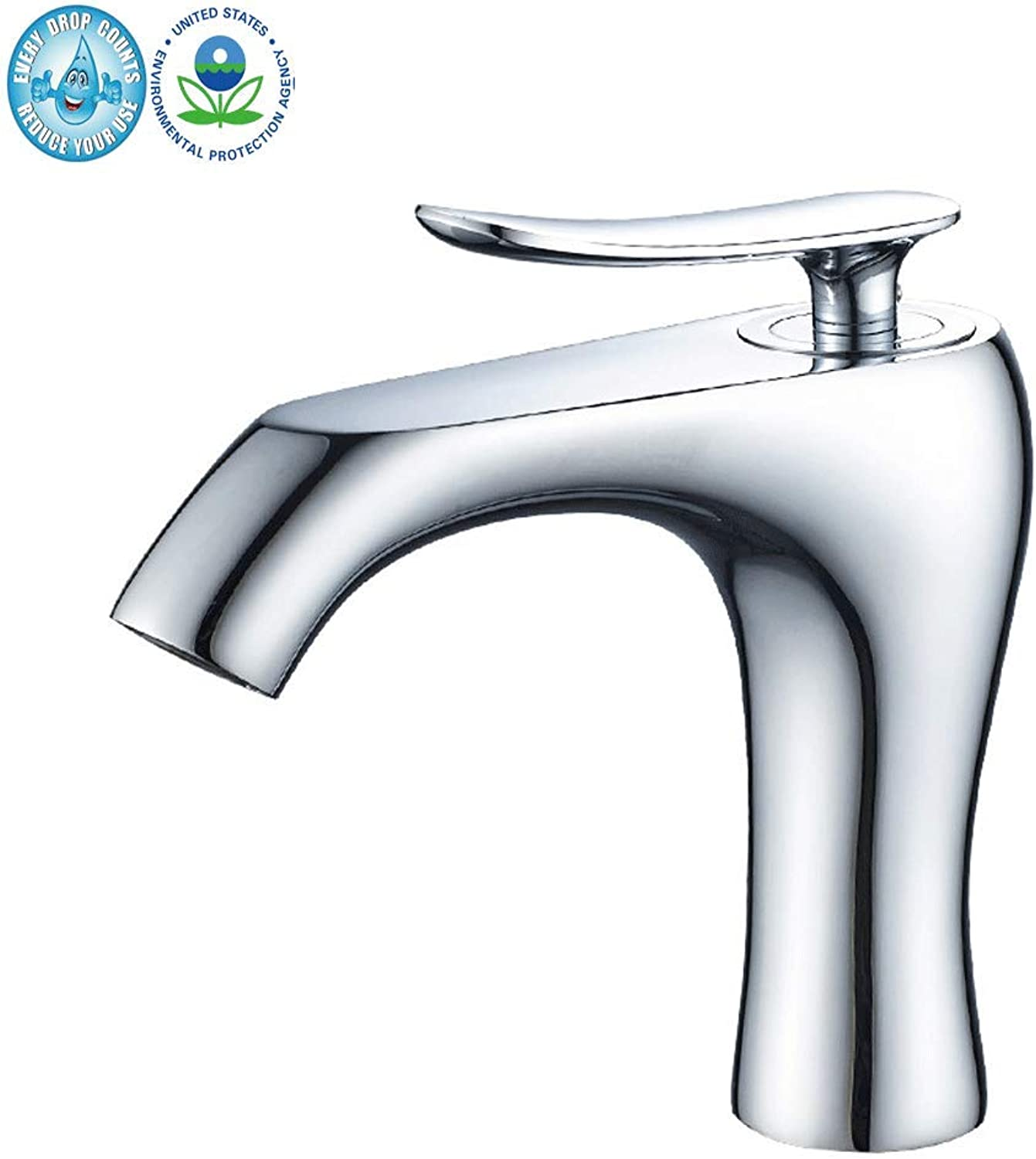 Tap Tap,Sink Taps Chrome Brass Hot Cold Mixer Tap Bathroom Water Faucet