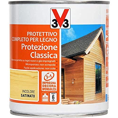 V33 Protettivo Completo Protezione Classica Incolore 0.75 l