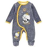 boboli Pelele terciopelo listado de bebé modelo 133063