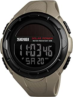 1405 Men Analog Digital Watch Fashion Casual Sports Wristwatch 5ATM Waterproof Strap Backlight Multifunctional Watches Rel...