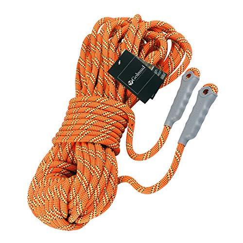 Escalada en árboles Cuerda de Seguridad estática 10.5mm Seguridad Cuerda Cuerda Escalada Roca Al Aire Libre Escalada Montaña Cuerda Cuerda Rescate Cuerda Cuerda Cuerda Electricista Trabajo aéreo Cuerd