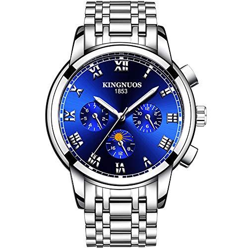 2020 Top Brand Luxury Acero Inoxidable Sport Chronograph Man Hand Wrist Cuarzo Pulsera Hombres Relojes Relogio Masculino
