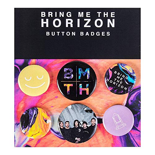 Bring Me The Horizon Umbrella Button-Pack Standard