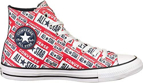 Converse CTAS Hi Schuhe White/Multi/Black