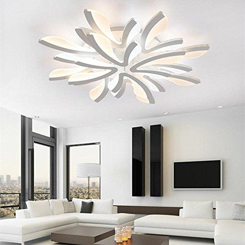Moderno LED Soffitto luci soggiorno camera da letto balcone Corridoio lampada da parete Lampadario in ferro, 8 head 80w (110)