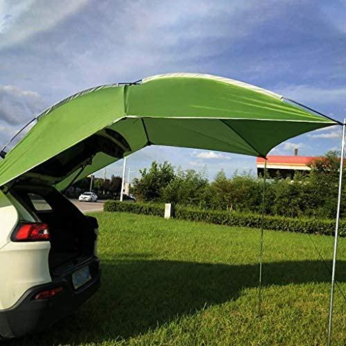 Tienda de cola de coche, toldo portátil refugio solar, tienda lateral del coche trasero del coche, remolque y toldo ligero del camión del aterrizaje