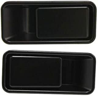 APA Replacement For 97-06 Wrangler (TJ) 87-95 (YJ) Half Door Type Front Outer Door Handle PAIR 55176548AB 55176549AB