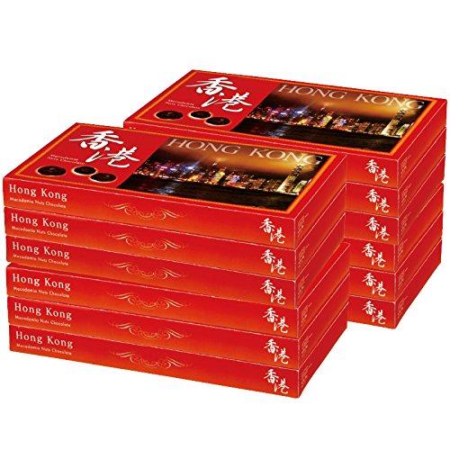 香港・マカオ 土産 香港 マカデミアナッツチョコレート 12箱セット (海外旅行 香港・マカオ お土産)