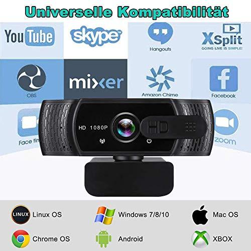 RLBUNZ Webcam Universelle Kompatibilität