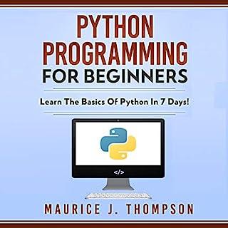 Python Programming for Beginners cover art