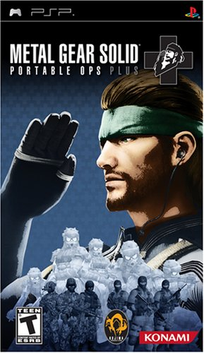 Konami Metal Gear Solid: Portable Ops Plus, PSP PlayStation Portable (PSP) Inglés vídeo - Juego (PSP, PlayStation Portable (PSP), Acción / Aventura, T (Teen))