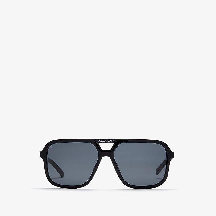 Dolce and Gabbana  DG4354 (Black/Grey) Fashion Sunglasses
