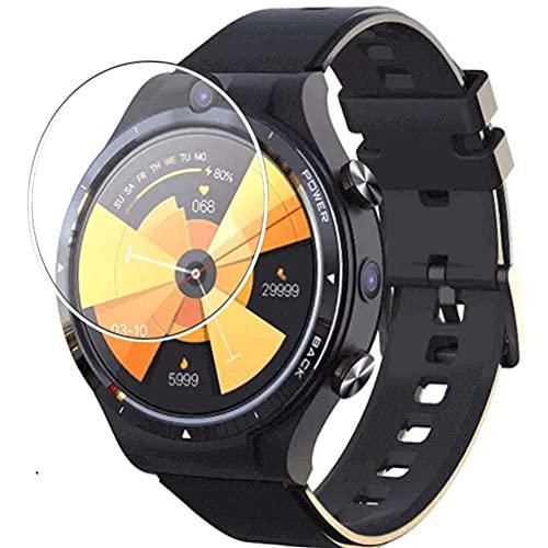 Vaxson 3-Pack Vetro Temperato Pellicola Protettiva, compatibile con LEMFO LEM 15 LEM15 smartwatch Smart Watch, 9H Screen Protector Film
