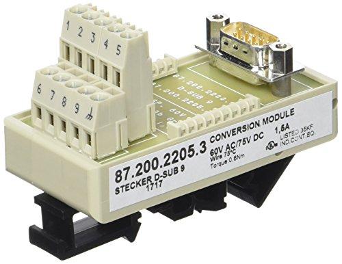 Stecker D-SUB 9 module levering: 1 stuk.