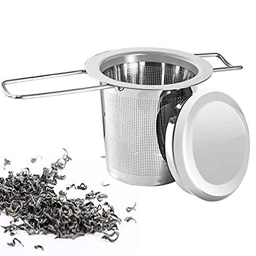 Merclix Teesieb Für Tasse Edelstahl Teefilter