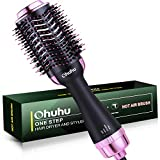 Upgraded Hot Air Hair Brush, Ohuhu Hair Dryer Brush 4 in 1 Electric One Step Hair Blow Comb...