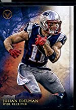 2015 Topps Valor #186 Julian Edelman Football Card