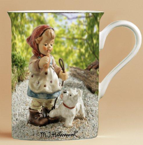 Hummel M. I Tasse Mädchen mit Hund