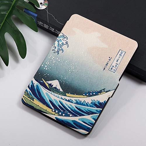 ZHAOXIANGXIANG Kindle Custodia,Custodia per Kindle Paperwhite 6A Gen 2015 & Amp;7A Generazione 2017 (Modello Ey21 / Dp75Sdi) - Smart Cover Magnetica con Sospensione/Riattivazione Automatica, Surf