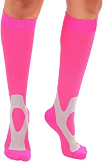 Compression Socks for Women Men Knee High Nylon Sports Socks Basketball Footwear Accessories
