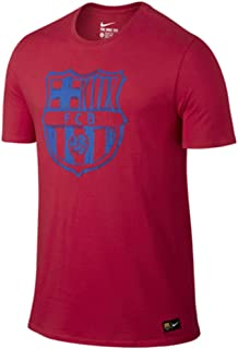 Kids Barcelona 16/17 Crest Tee Prime Red
