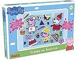 Lansay - 20024 - Peppa Pig - Scnes en Feutrine