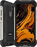 Rugged Smartphone, DOOGEE S58 Pro (2020) Android 10, 6GB+ 64GB, 16MP + 16MP Triple Cameras, 5180mAh Battery, 5.71 inches HD+, IP68 Waterproof Mobile Phone, 4G Dual SIM, NFC/GPS, UK Version - Black