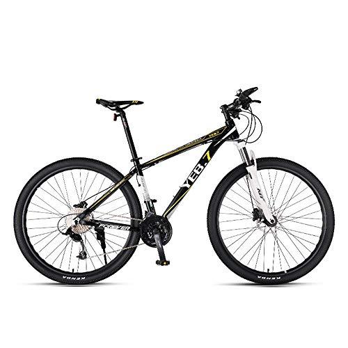 LIUJIE mountainbike snelheid mannen Cross Country Student Fiets Jeugd 33 Speed 29 Inch Commuter Dual Suspension Mens en Vrouwen Bike MTB Dubbele schijfremmen Aluminium Frams