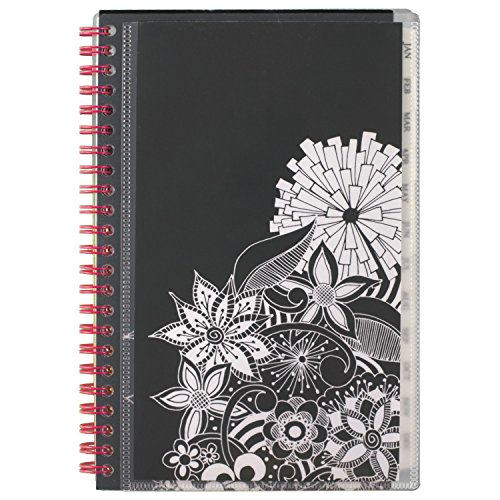 "AT-A-GLANCE Weekly / Monthly Planner / Appointment Book 2017, 4-7/8 x 8"", Black/White (689-200)"