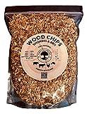 Virutas de madera para ahumar de 5 litros para barbacoa y ahumadores, 100% natural de...