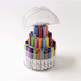 Crayola Telescoping Pip-Squeaks Marker Tower, 50/ST, Nontoxic, AST