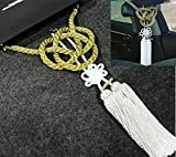 FidgetGear VIP Style Charm Junction Produce Fusa White Knot & Gold Rope