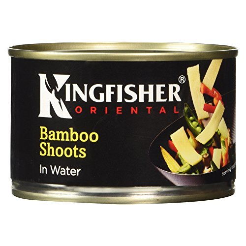 Kingfisher Oriental Sliced Bamboo Shoots in Water, 225g