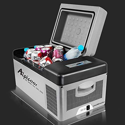 SSLL Car Refrigerator Mini draagbare compressor-koelkast, draagbare thermo-elektrische koelbox/verwarmingsbox, 25 liter, 12/24 V DC/220-240 volt AC voor auto, vrachtwagen, boot en stopcontact Car.