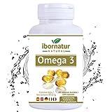 Omega 3 capsulas fish oil | Aceite de Pescado 1000 mg | Mayor pureza y frescura Gran potencia EPA DHA | Complemento alimenticio