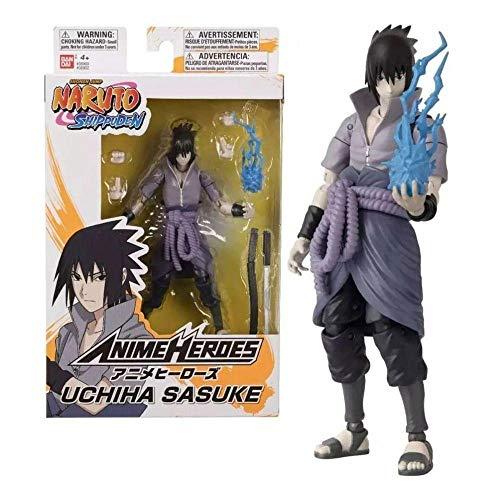 Boneco Naruto Série 1 Articulado Uchiha Sasuke - Fun