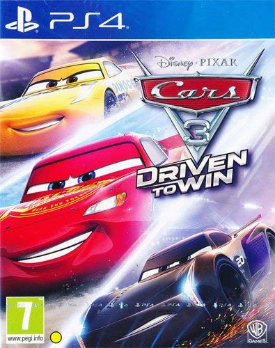 Cars 3 PS-4 UK multi Driven to Win [Importación inglesa]