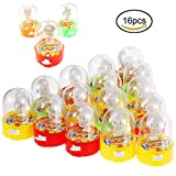 Herefun 16 Pcs Flipper Basketball, Mini Basketball Mini Finger Schießspielzeug,...