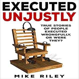 Executed Unjustly audiobook cover art
