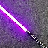 Hengqiyuan Lightsaber Star, Wars Sabre Laser Baguettes Sabre Laser Lame Star Wars Lumineux Son Jouet, Cadeau, Cosplay Jouet Sabre Laser Cadeau pour Enfants et Adultes