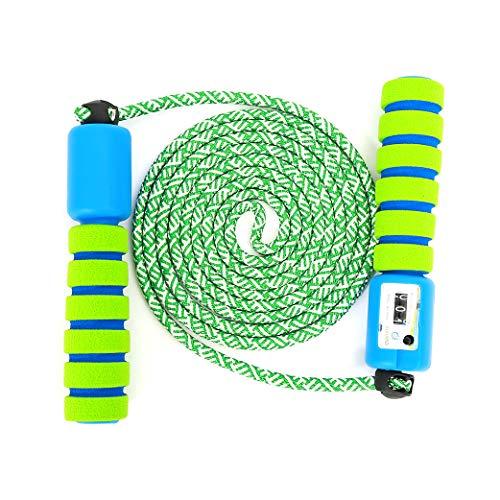 Sportplay Springseil Speed Rope mit Zähler Und Komfortablen & Anti-Rutsch Griffen für Fitness und Boxen