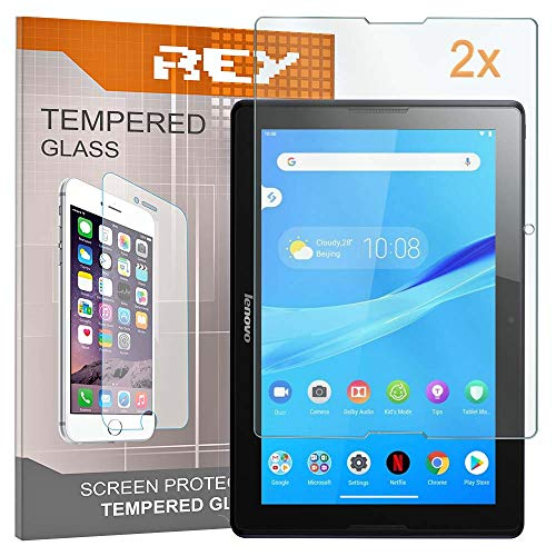 Screen Protector for LENOVO TAB 2 A10-70 10,1' MODELO A7600-F, Tempered Glass Film, Premium quality, [Pack 2x]