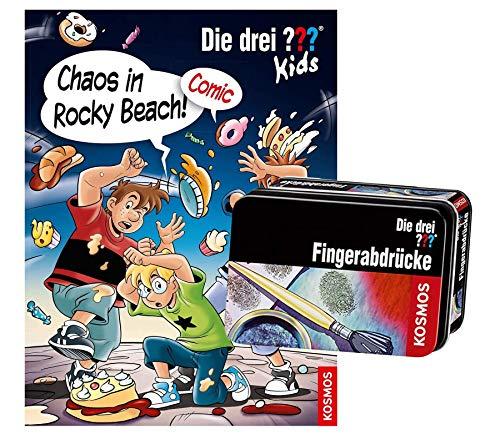 Die DREI ??? Kids, Chaos in Rocky Beach!: Comic + Forscherkästchen (Verschiedene Auswahl)