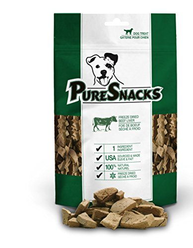 Puresnacks Beef Liver Freeze-Dried Treats For Dogs, 6.98Oz / 198G | Value Size
