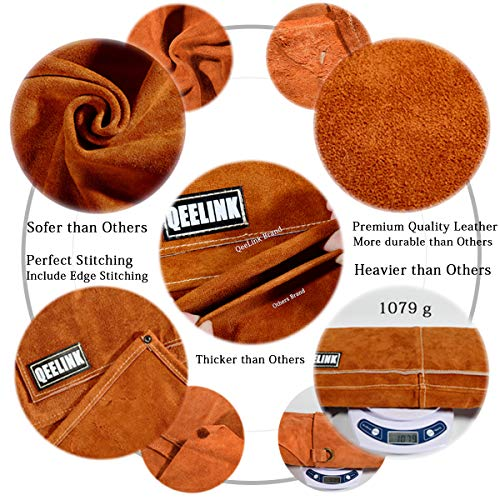 QeeLink Leather Welding Apron