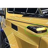 AniFM 2PCS Luces de Giro para Clase G w463 MB G63 G65 G500 G350 G400 Lámpara de señal LED Lámpara de Giro