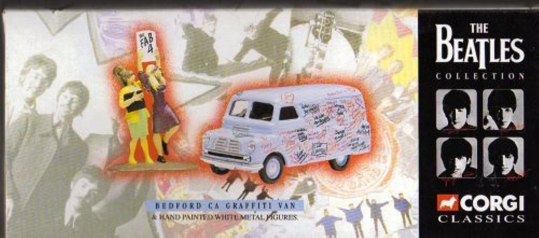 tienda de venta Corgi Classics, Classics, Classics, The Beatles Collection, Bedford CA Graffiti Van & Hand Painted blanco Metal Figuras by Corgi  artículos de promoción