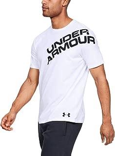 Under Armour Men's UA Wordmark Shoulder Ss T-Shirt